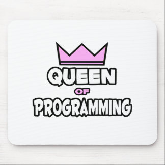 Queen of Programming Mouse Pad