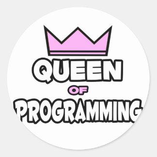 Queen of Programming Stickers