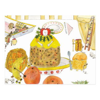 Queen of Puddings Post Card