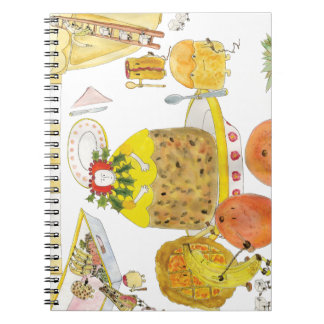 Queen of Puddings Spiral Notebook