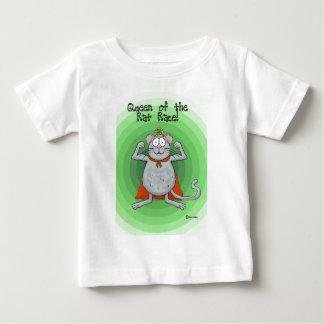 Queen of Rat Race Boss's Day Funny Humor Baby T-Shirt