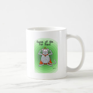 Queen of Rat Race Boss's Day Funny Humor Coffee Mug