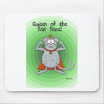 Queen of Rat Race Boss's Day Funny Humor Mouse Pad