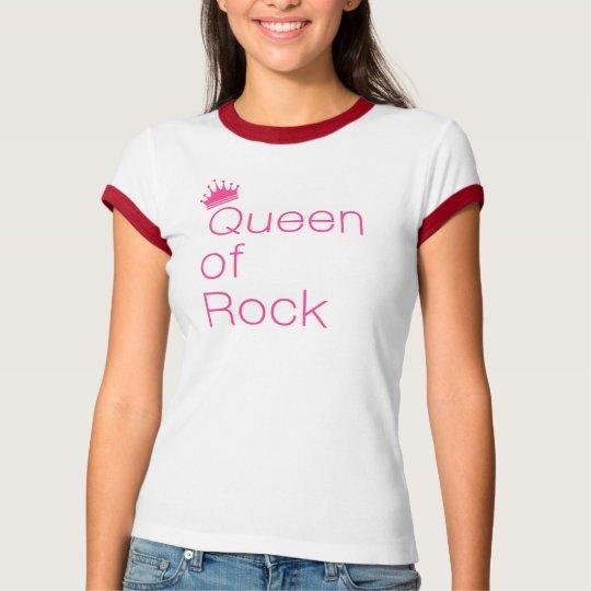 Queen of Rock Pink T-Shirt