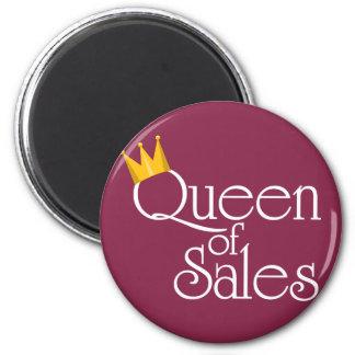 Queen of Sales Refrigerator Magnets
