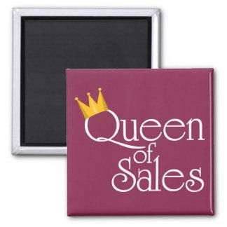 Queen of Sales Fridge Magnets
