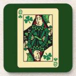 Queen Of Shamrocks Drink Coaster