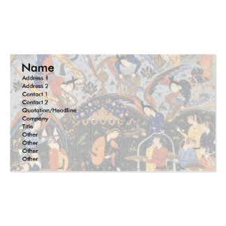Queen Of Sheba By Persischer Meister (Best Quality Business Card