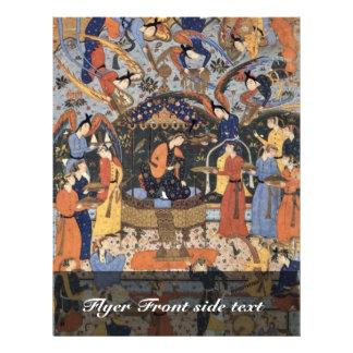 Queen Of Sheba By Persischer Meister (Best Quality Flyer