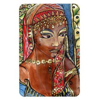Queen of Sheba Rectangular Photo Magnet