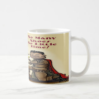 Queen of Shoes Coffee Mug