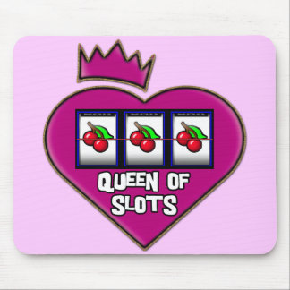 QUEEN OF SLOTS MOUSE PAD