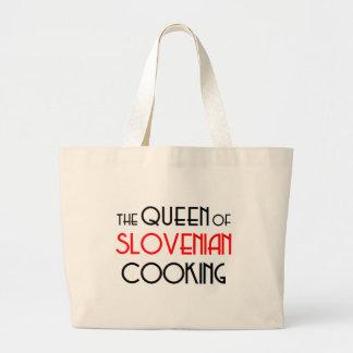 Queen of Slovenian cooking Jumbo Tote Bag