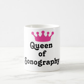 Queen of Sonography Coffee Mug