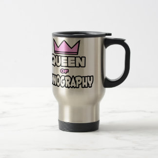 Queen of Sonography Travel Mug