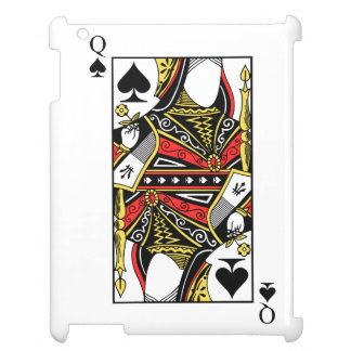 Queen of Spades - Add Your Image iPad Case