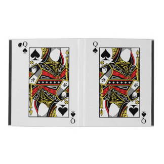 Queen of Spades - Add Your Image iPad Cover