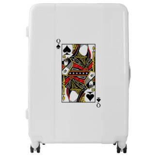 Queen of Spades - Add Your Image Luggage