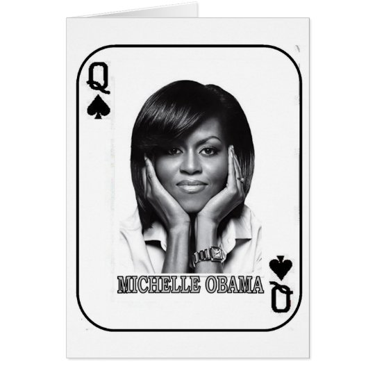 QUEEN OF SPADES CARD