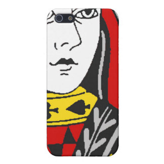 Queen of Spades Case Cover For iPhone 5/5S