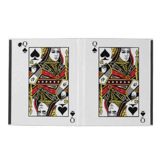 Queen of Spades iPad Folio Case