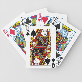 queen of spades.png bicycle playing cards