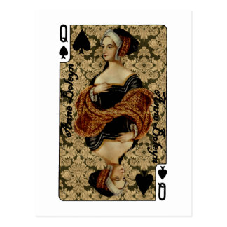 Queen of Spades Postcard