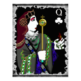 queen of staves postcard