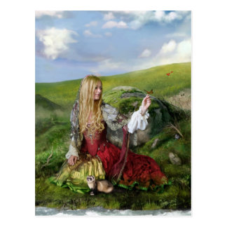 Queen of Summer Postcard