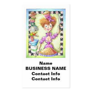 QUEEN OF TARTS BUSINESS CARD