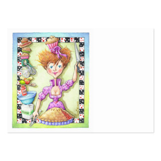 QUEEN OF TARTS LARGE BUSINESS CARD