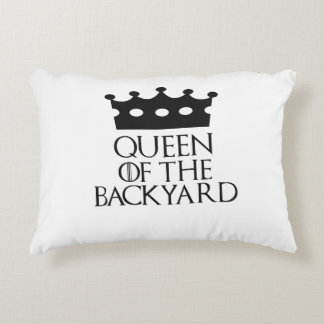 Queen of the Backyard, #Backyard Accent Pillow