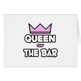 Queen of The Bar Cards