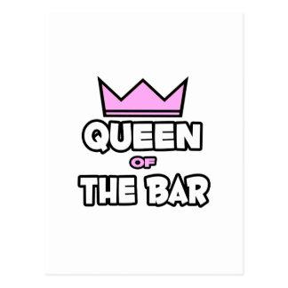 Queen of The Bar Postcard
