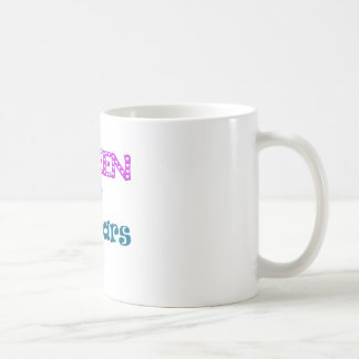 Queen of the Bars Classic White Coffee Mug