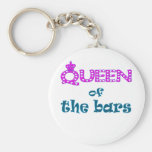 Queen of the Bars Keychain