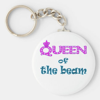 Queen of the Beam Keychain