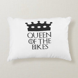 Queen of the Bikes, #Bikes Accent Pillow