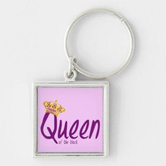 Queen of the Block Keychain