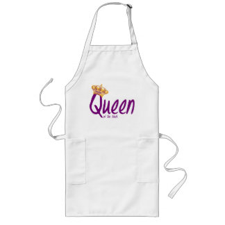 Queen of the Block Long Apron