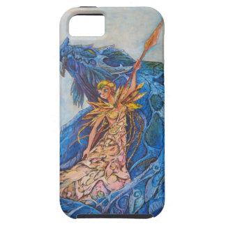 Queen of the blue dragon iPhone SE/5/5s case