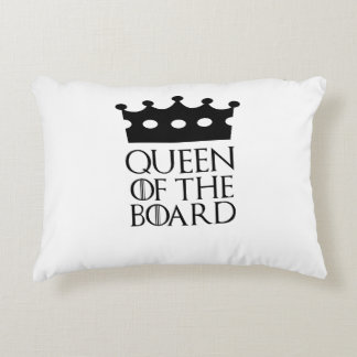 Queen of the Board, #Board Accent Pillow