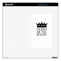 Queen of the Bullies, #Bullies Decal For Kindle Fire