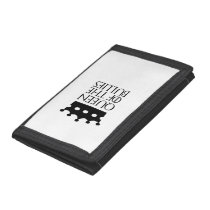 Queen of the Bullies, #Bullies Trifold Wallet
