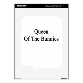 Queen Of The Bunnies iPad 3 Skin