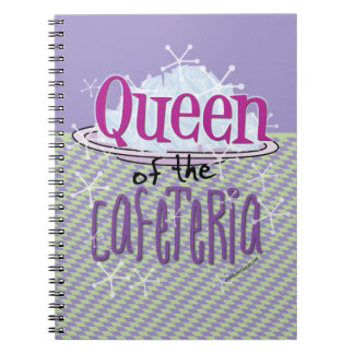 Queen of the Cafeteria - Lunch Lady Notebook