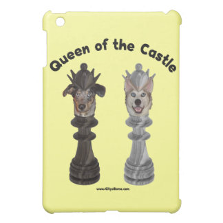 Queen of the Castle Chess Dogs iPad Mini Case