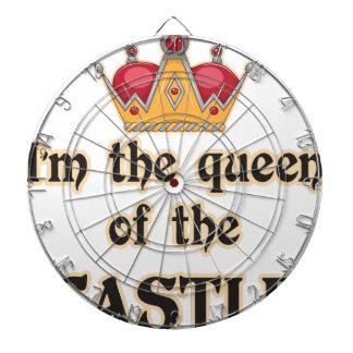 Queen of the Castle Dartboard
