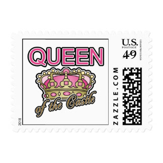 Queen of the Castle Stamp