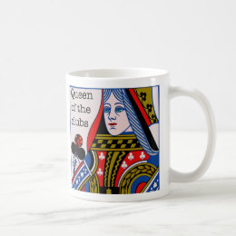 Queen of the Clubs mug